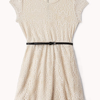 Sweet Crochet Lace Dress