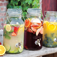 Classic Bale Jar Drink Dispenser - Decanters & Pitchers - Tabletop - NapaStyle