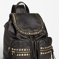 Cesca 'Study Buddy' Studded Faux Leather Backpack | Nordstrom