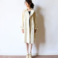 Burberry Trench Coat Minimalist 80s Jacket by factoryhandbook