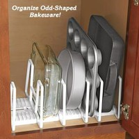 Adjustable Bakeware Organizer @ Fresh Finds