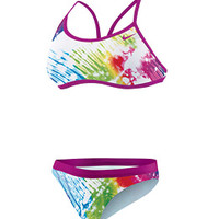 Nike Women's Tie Dye 2PC Sport Top at SwimOutlet.com - Free Shipping