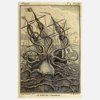 Adam's Ale Art: Kraken 12x16, at 13% off!