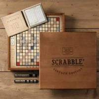 Vintage Edition Scrabble