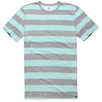 On The Byas Owen Overdye Stripe Crew Tee at PacSun.com