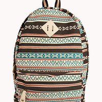 Southwestern Canvas Backpack | FOREVER21 - 1059216810