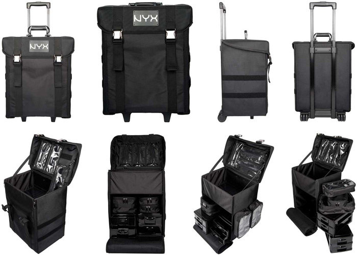 NYX Makeup Artist Train Case - Organized Chao :: Bags & Cases :: Tools :: Cherry Culture