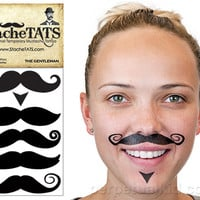 STACHETATS - GENTLEMAN MUSTACHE TATTOOS