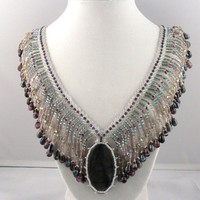 Labradorite on Fringed Necklace | RavenstarJewelry - Jewelry on ArtFire