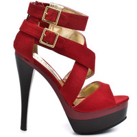 Michael Antonio - Terah - Red Suede