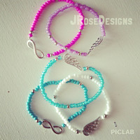 Stackable - Stretch Charm Bracelets