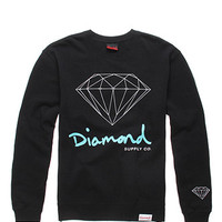 Diamond Supply Co Script Logo Crew Fleece at PacSun.com