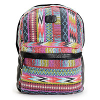 Billabong Fashion Masters Multicolor Tribal Canvas Backpack at Zumiez : PDP