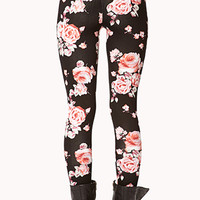 Wild Rose Leggings | FOREVER 21 - 2075758611