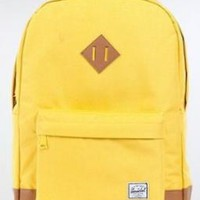 HERSCHEL SUPPLY The Heritage Backpack in Beeswax & Tan,Bags (Messenger/Utility) for Unisex:Amazon:Clothing