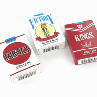 Bubble Gum Cigarettes 1 pack - OldTimeCandy.com