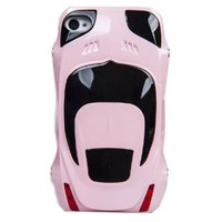Sport Car Style Plastic Hard Cover Case for Iphone 4/4s(pink)