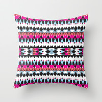 Mix #441 Throw Pillow by Ornaart