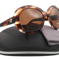 Fashion Sunglasses: Havana Beige/Dark Brown