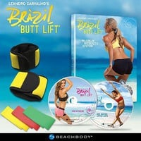 Brazil Butt Lift - The Supermodels' Maximum Results System Butt Workout DVDs
