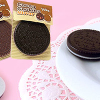 Buy Kawaii Chocolate Cookie Oreo Pocket Mirror at Tofu Cute