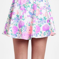Garden Glow Buttoned Skirt By Reverse