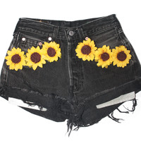 Sunflower Shorts — Wilma + Winston