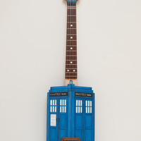 Doctor Who inspired Tardis ukulele