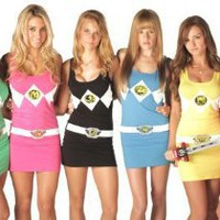 The Power Rangers Sexy Tunic Tank Dress
