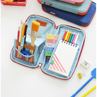 Twin Color Folding Pen Pouch v2