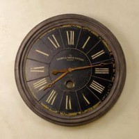 London Rail Clock | Clocks | Restoration Hardware