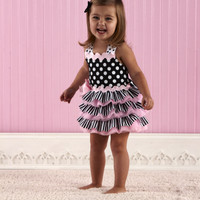 Ribbon Ruffle Sundress Mud Pie - The Couture Baby