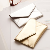 Russell + Hazel Card Holder-Metallic - See Jane Work