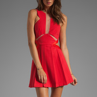 Three Floor Look See Dress in Poppy from REVOLVEclothing.com