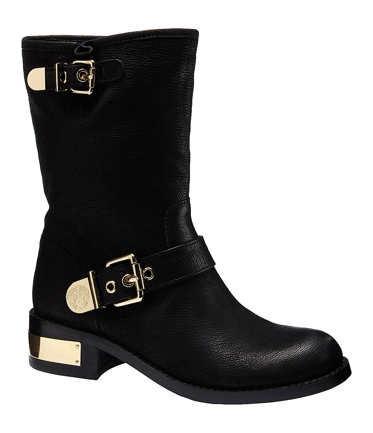 vince camuto winchell moto inspired boots from dillard s