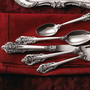 &quot;Grand Baroque&quot; Sterling Silver Flatware-Horchow