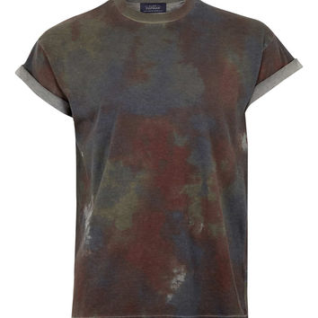 Pastel Tiedye T-shirt - Striped & Patterned T-Shirts - Printed T-Shirts - Men's T-shirts & Tanks - TOPMAN USA