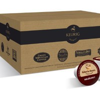 Gloria Jean's Coffees, Hazelnut Coffee, K-Cups for Keurig K-Cup Brewers (Pack of 50)