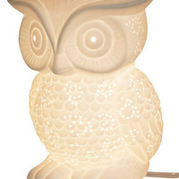 Streamline Dorm Decor Nocturn-owl Lifestyle Lamp