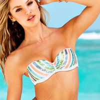 Sequin Push-Up Bandeau Top - Beach Sexy - Victoria's Secret