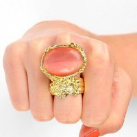 2012 New Arrivals / Stone Cold Ring in Mauve $9 at www.tobi.com