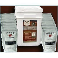 Emergency Survival Food Wise 60 Serving Entree Only One Month Freeze Dried Food Supply