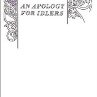 AN Apology for Idlers (Penguin Great Ideas) [Paperback]