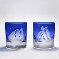 The Future Perfect - Nautical Double Old-Fashioned Glass Set - Objects