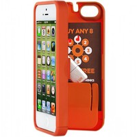 Flight 001 – Where Travel Begins.  Eyn Iphone 5 Storage Case Orange