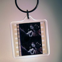 Nightmare Before Christmas Film Strip Key Chain