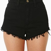 Coast Cutoff Shorts - Black
