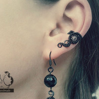 Small Gothic Ear Cuff by MayaHandmade on Etsy