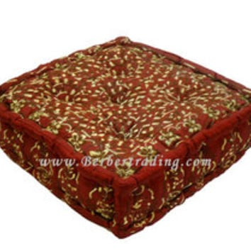 Large Moroccan Tufted Floor Pillows : moroccan floor cushions Quotes