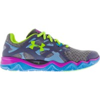 Under Armour Women's Micro G Monza Running Shoe - Grey/Blue | DICK'S Sporting Goods